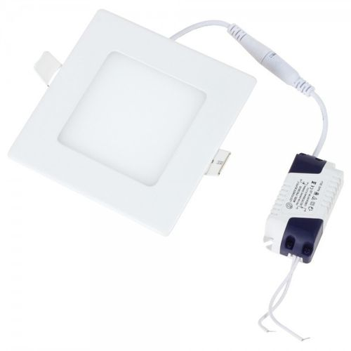 LED PANEL Quadratisch 6W, Warm/Neutral/Kaltweiss 230V
