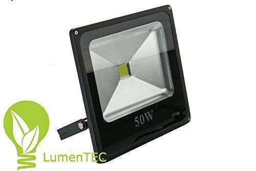 Bekannt LED Strahler, LED Fluter, 50 Watt Warmweiss SLIM, 50W 4500 Lumen QD54