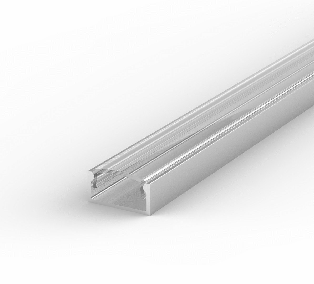 SET: LED Profil, 100cm Profil LED für LED Streifen, led profil + ...
