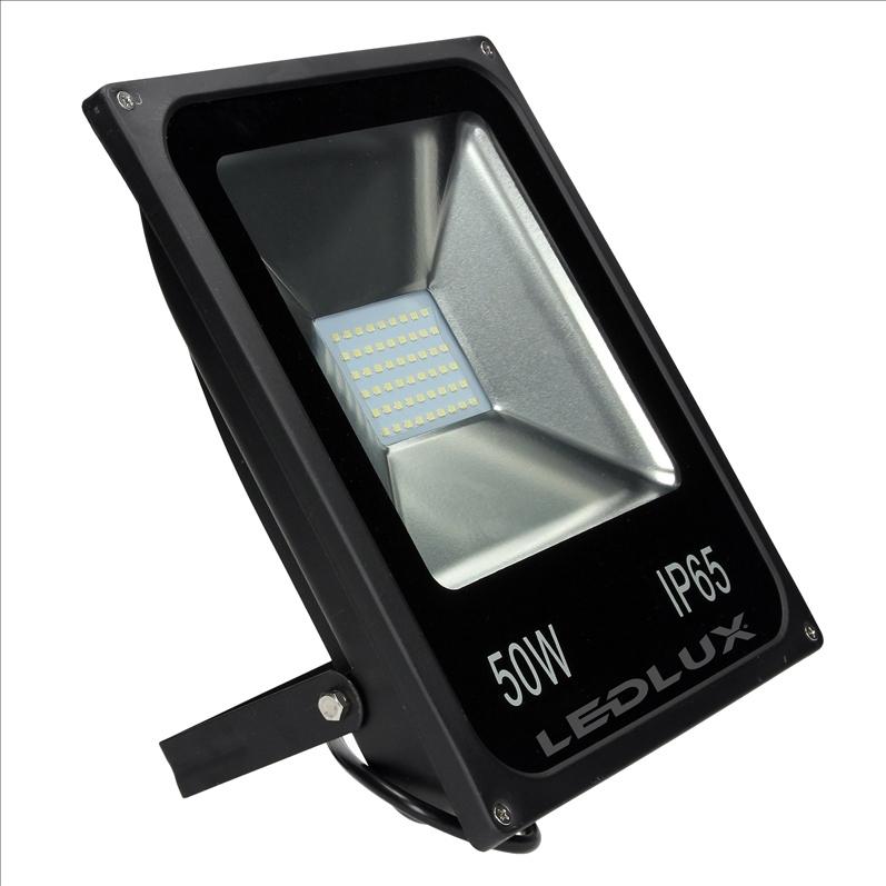 Favorit LED Strahler, LED Fluter, SLIM 50 Watt Kaltweiss 6000K LED IU54