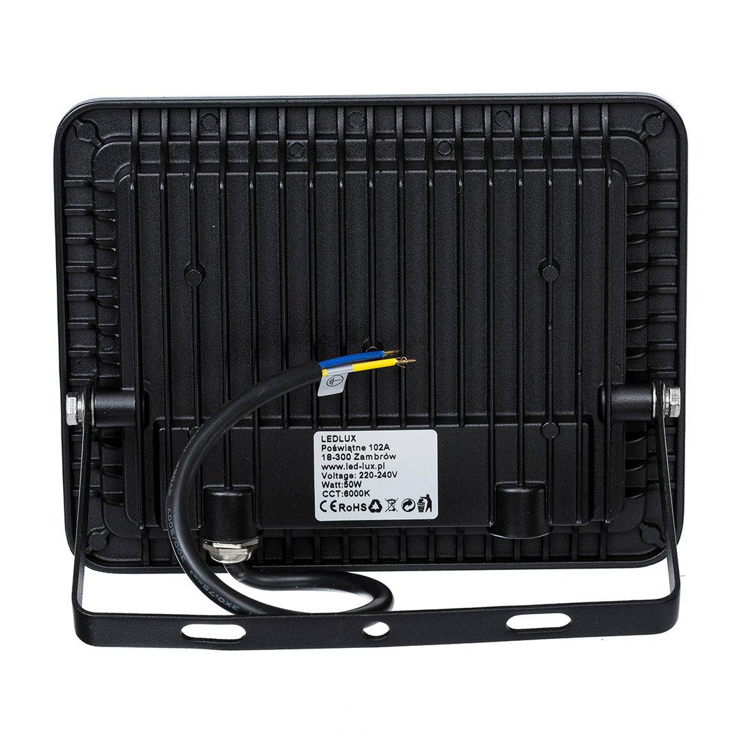 Favorit LED Strahler, LED Fluter, SLIM 50 Watt Warmweiss 3000K LED TS93