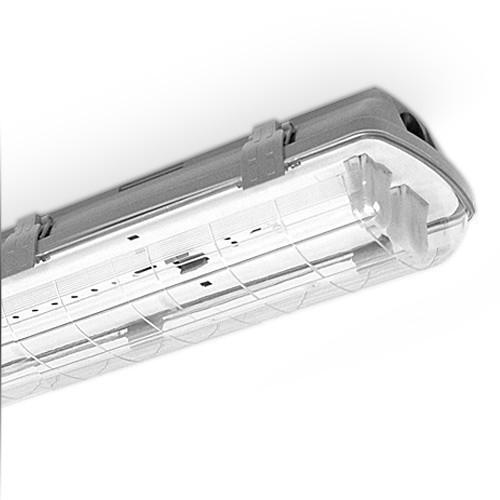 Bevorzugt LED Wannenleuchte Leuchtstofflampe IP65, 2x T8 LED, 120cm SB44