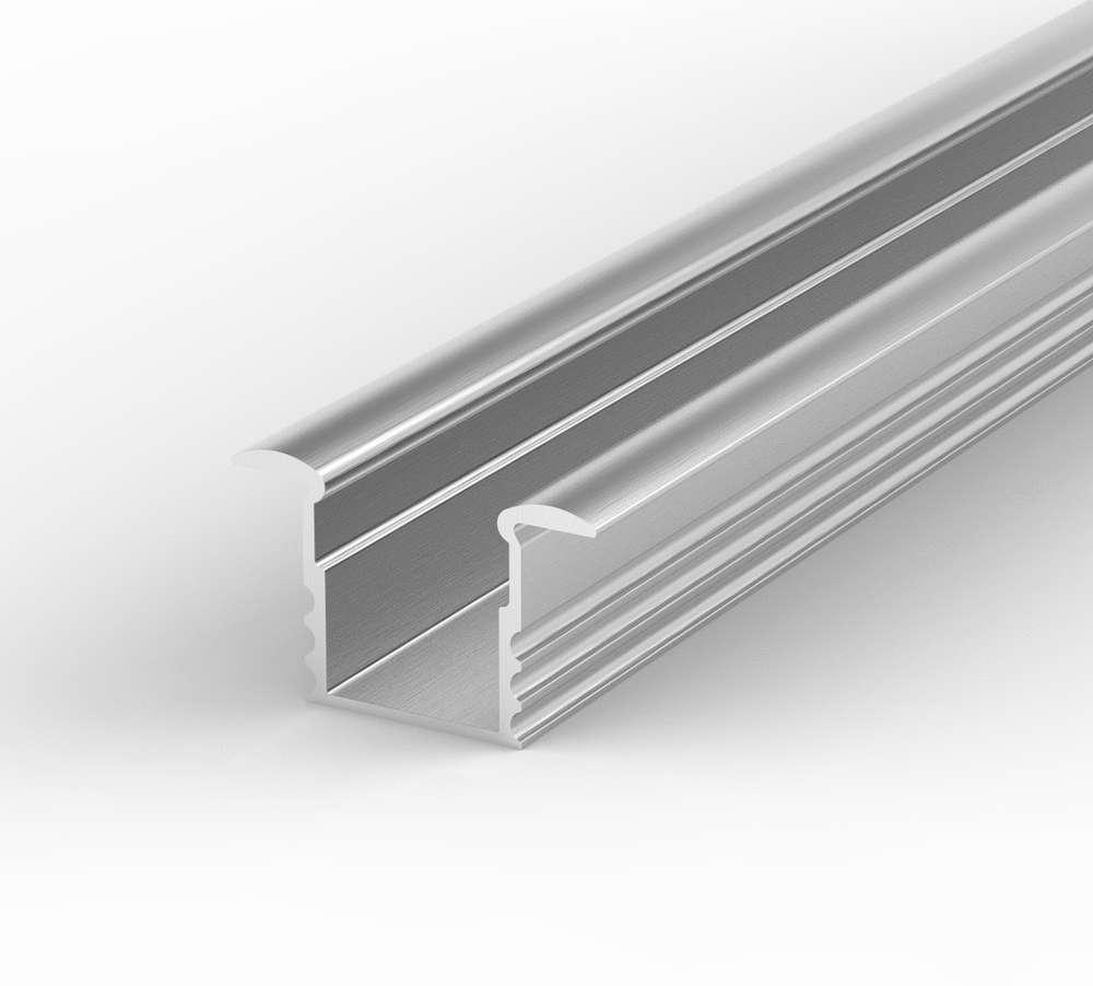 1m Aluminium LED Profil für LED Streifen, SET Alu LED profil + ...